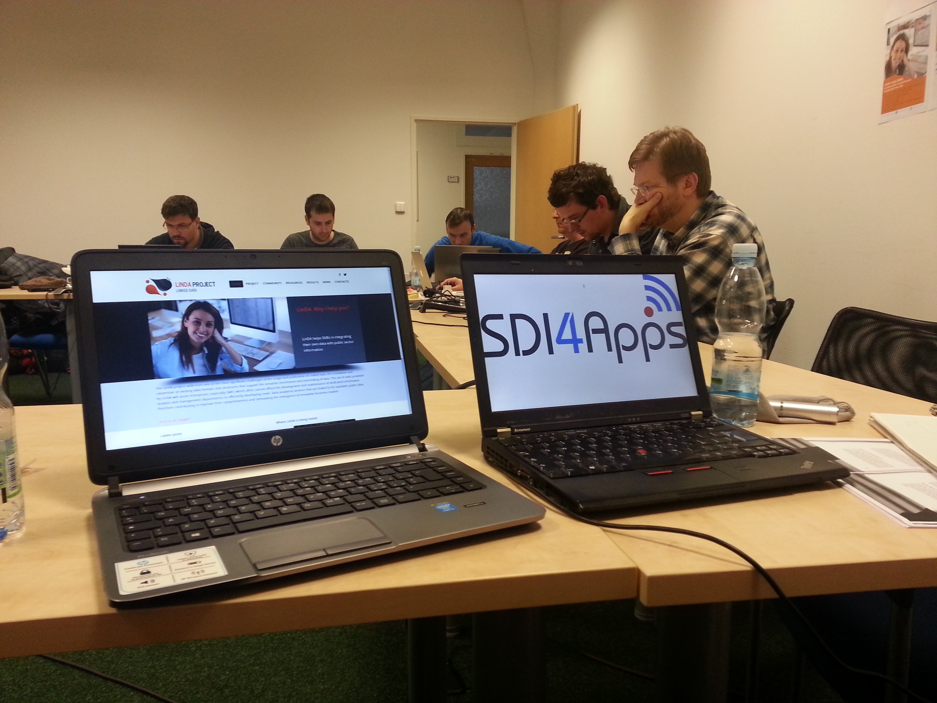 The SDI4Apps Code Camp Tackles the Technical Challenges of the Cloud Environment for Geographic Information