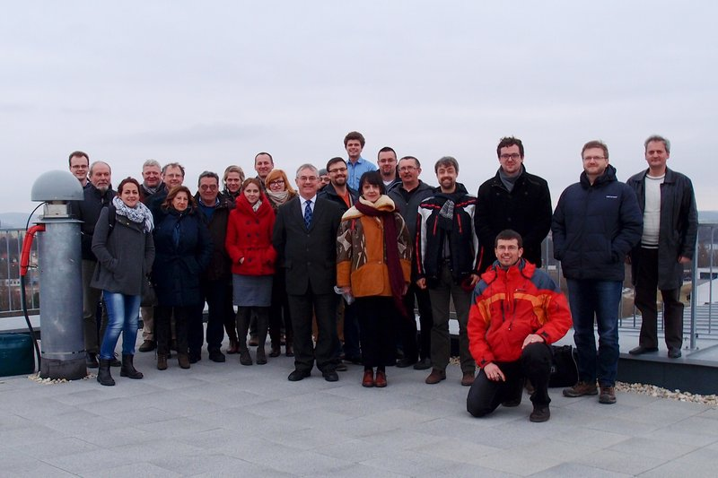 The University of West Bohemia hosts the third SDI4Apps project meeting