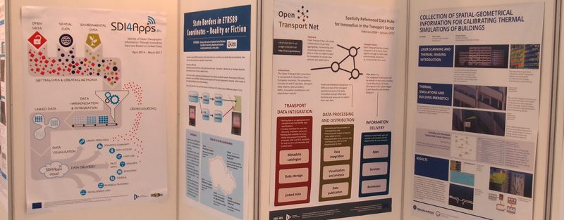 SDI4Apps at the INSPIRE Conference – Geospatial World Forum 2015