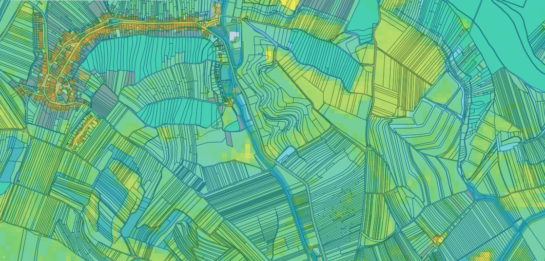 Open Land Use and NDVI