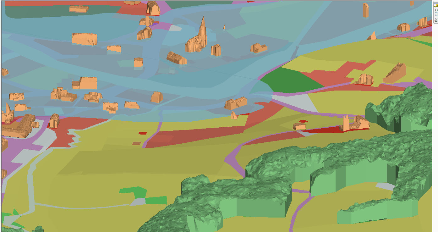 OLU Map 3D modelling of flood plains