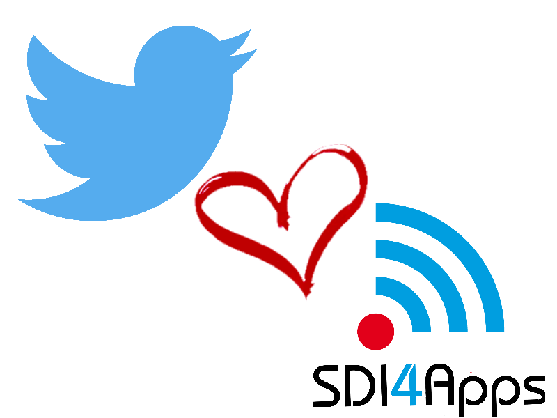 SDI4Apps is now on Twitter